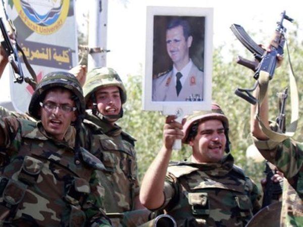 Die rückkehr der syrischen arabischen armee linke zeitung
