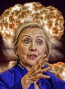 Clinton droht Putin mit atomarem Vergeltungsschlag