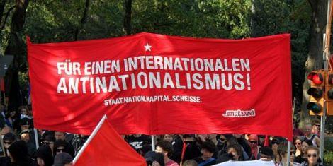 Hoch die »antinationale«Solidarität?