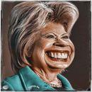 Synthetische Präsidentin wird kranke Clintonersetzen