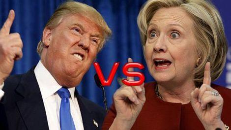 TV-Debatte zwischen Clinton und Trump: Ein abstoßendesSpektakel