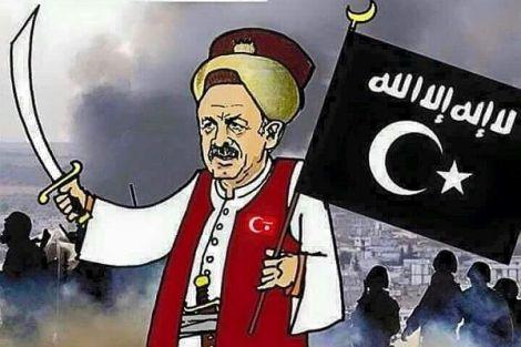 Türkei kritisiert amerikanische Mossul-Offensive und erhebt Ansprüche auf demBalkan