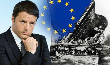 Italien vor Matteo RenzisReferendum