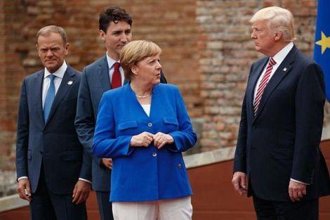 G7-Gipfel wird zumDebakel