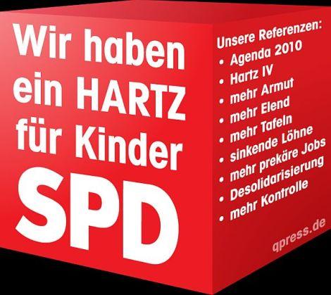 SPD-Parteitag: Schulz attackiert Merkel vonrechts