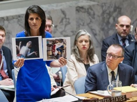 Die Unfähigkeit der USA die Realität bei der UNOanzuerkennen