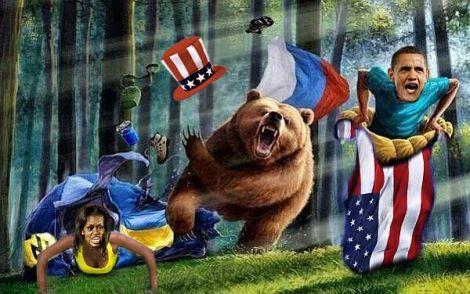 Wenn man sich mit einem Bären abgibt, dann ist Überheblichkeit selbstmörderisch