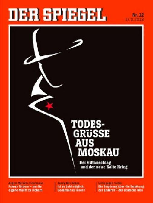 Spiegel cover zum fall skripal beschwerde beim presserat for Spiegel cover juni 2018