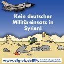 Soldaten! Verweigert den drohenden Syrien-Befehl! Wer seinem Land treu dient, sagtNEIN