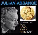 Julian Assange (WikiLeaks) für Friedensnobelpreis vorgeschlagen