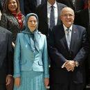 US-Politiker sprechen auf der Konferenz der iranischenOpposition