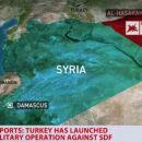 Türkische Kampfflugzeuge fliegen Luftangriffe auf GrenzübergangSemalka