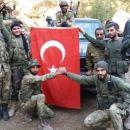 """Die USA haben 21 der 28 """"verrückten"""" Milizen unterstützt, die die brutale Invasion der Türkei in Nordsyrienanführen."""