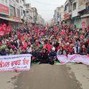 Der größte Streik aller Zeiten in Indien erschüttert dieModi-Regierung