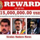 USA setzen ein Kopfgeld von 15 Millionen Dollar auf Nicolas Maduroaus