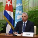 Rede Des Präsidenten Der Republik Kuba, Miguel Díaz-Canel Bermudez, In Der Generaldebatte Der 75. Ordentlichen Sitzung Der Vollversammlung Der Organisation Der VereintenNationen