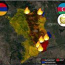 Zwischenergebnisse und Aussichten des armenisch-azerbaidschanischen Krieges