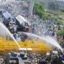 250 Millionen Bauern und Arbeiter protestierten heute in ganzIndien