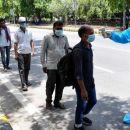 Die COVID-19-Katastrophe in Indien nimmt weiterzu