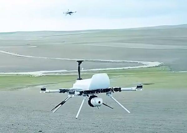 KI-Drohnen auf Menschenjagd