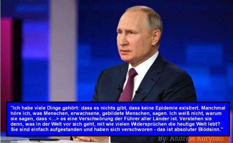 Nicht-russische Pro-Russen müssen Putins COVID- und Impf-Haltung anerkennen