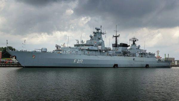"""Flagge zeigen! Mit der Fregatte """"Bayern"""" reiht sich Deutschland in den US-Aufmarsch im Indo-Pazifik ein"""